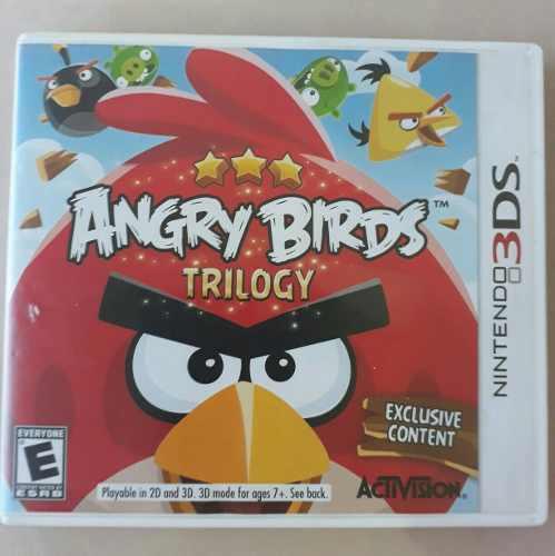 Juegos De Nintendo 3ds Angry Birds