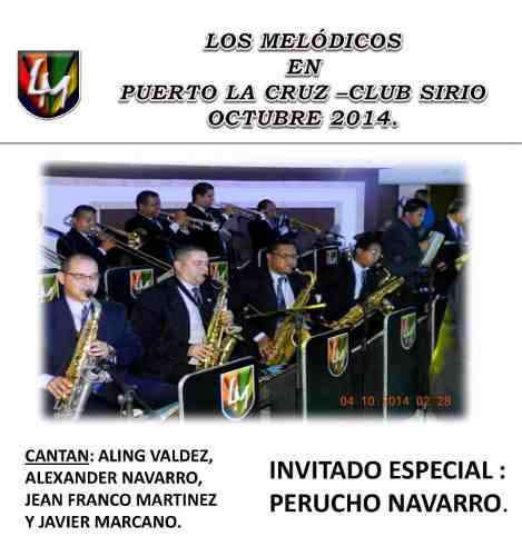 Los Melódicos - En Puerto La Cruz 2 Cds (digital)