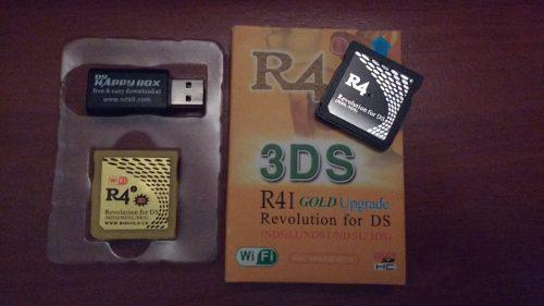 R4 Revolution For Ds (3ds/ndsi/ndsl/nds Unlimited Upgradable