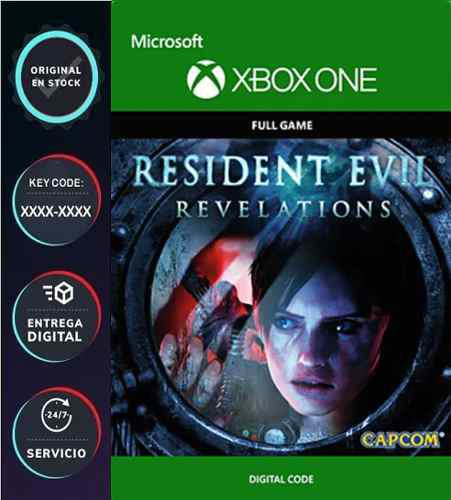 Resident Evil Revelations Xbox One Codigo Digital Jue Online