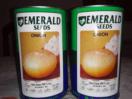 Semilla De Cebolla Emerald Hibrida F1