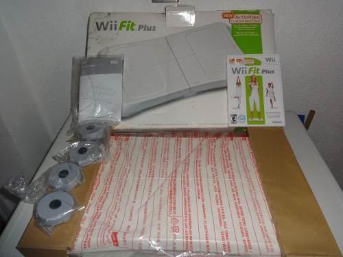 Tabla Wii Fit Plus, Incluye Juego Original