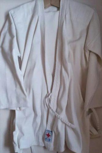 Karategui Kimono, Uniforme De Karate, Color Blanco, Talla 4