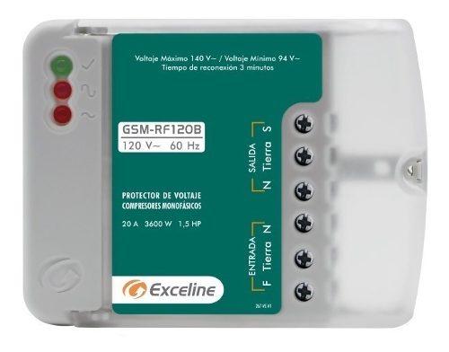 Protector Voltaje Exceline Compresores Monofasicos 120v 220v
