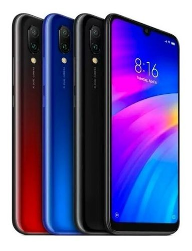 Xiaomi Redmi 7 32gb 3gb Ram 4g Lte Huella Dual Sim 8 Nucleos