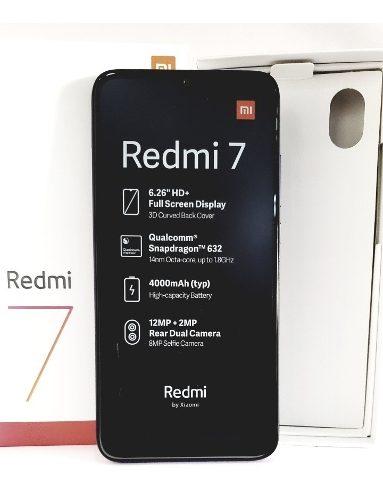 Xiaomi Redmi 7 32gb Somos Tienda Fisica 150