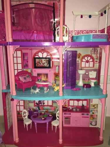 Casa De Barbie Con Luces Y Sonidos