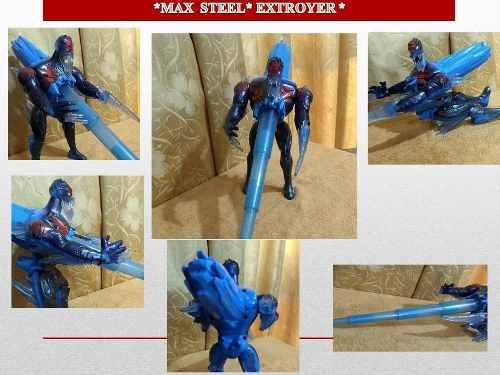 Figura De Acción Max Steel Extroyer