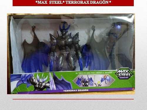 Figura De Acción Max Steel Terrorax Dragón