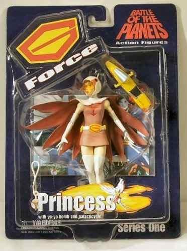 Figura De Accion Batalla De Los Planetas Fuerza G. Princesa