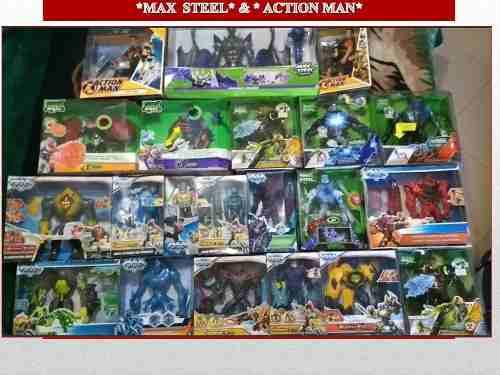 Figuras De Acción De Colección Max Steel Nuevas