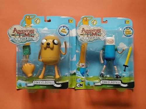 Hora De Aventura Adventure Time Finn Y Jake Figura Muñeco