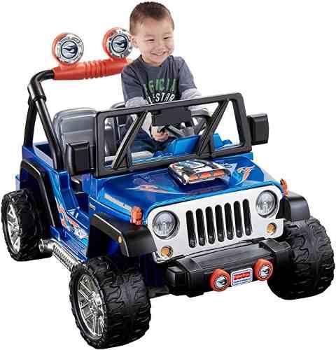 Jeep Electrico Niño Fisher Price Nuevo