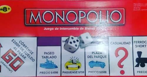 Juego De Monopolio 8 Jugadores Nuevo Tienda