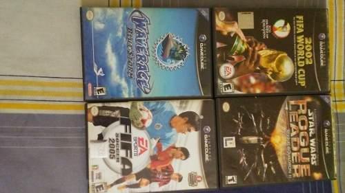 Juegos De Nintendo Gamecube Y Nintendo Ds Originales