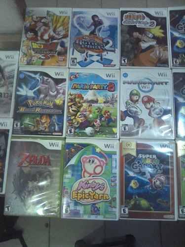 Juegos De Nintendo Wii Originales Sirve Nintendo Wii U Venta