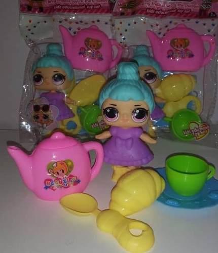 Juguetes Set Plástico De Cocina De Muñeca Lol Surprise