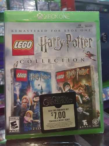 Lego Harry Potter Xbox One Fisico Sellado Control And Play