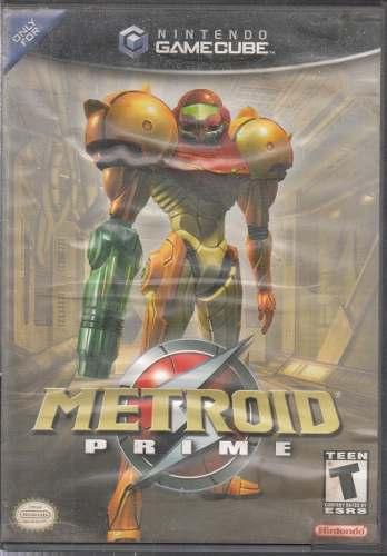 Metroid Prime Game Cube Video Juego Original Usado Qq8