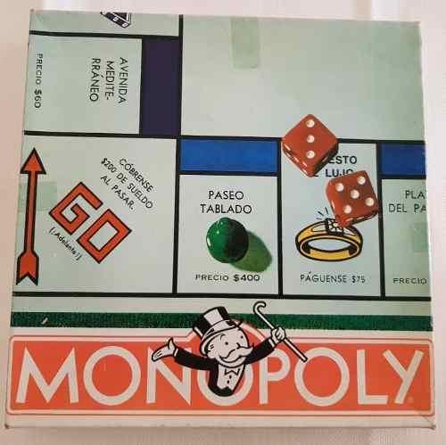Monopolio Original. Juego De Mesa