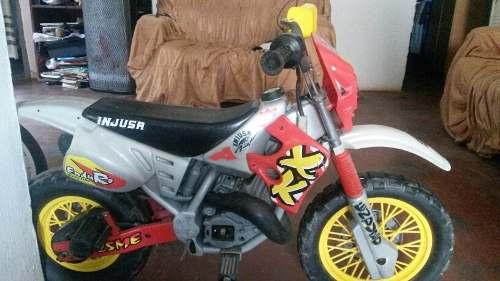 Moto De Bateria Para Niños Maraca Injusa Team
