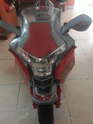 Moto Eléctrica Tres Ruedas Para Niños Y Niñas