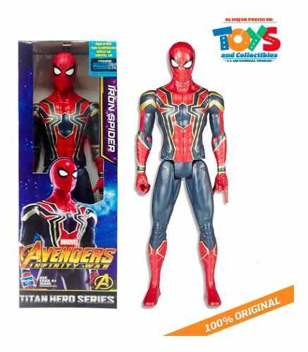Muñeco Iron Spider Titan Hero Avengers Infinity War -