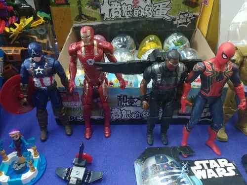 Muñecos Varios Avengers Iron Man Capitán Spiderman Oferta