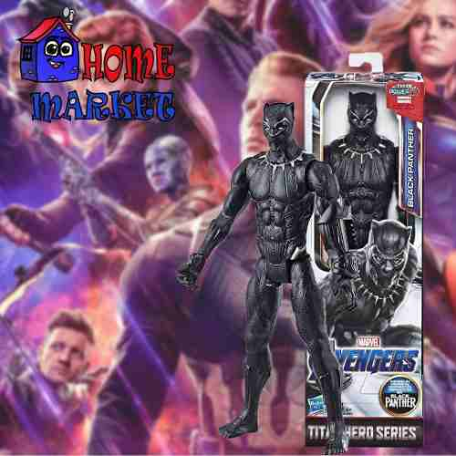 Pantera Negra Marvel Vengadores - Figura De Accion