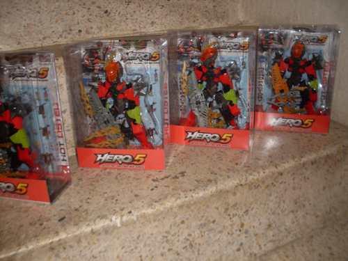 Robot De Accion Hero 5 Muñeco De Juguete