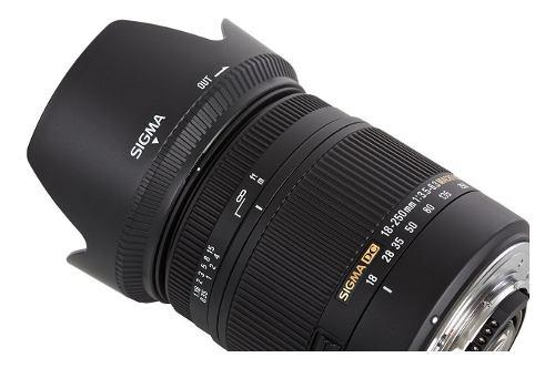 Sigma 18-250mm F/3.5-6.3 Dc Os Hsm If Lente Para Nikon D-slr