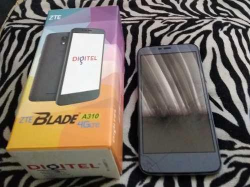 Teléfono Zte Blade A 310 Mica Partida Placa Mala Repuesto.