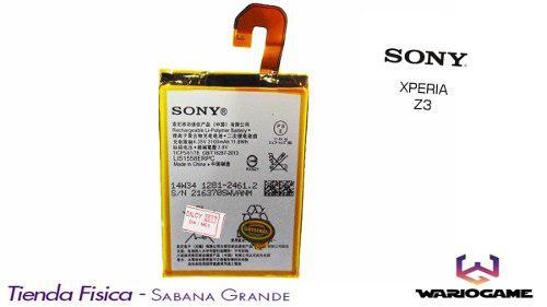 Bateria Pila Sony Xperia Z3 D6603 Somos Tienda Física
