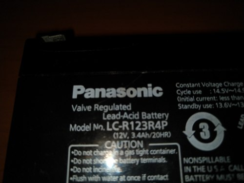 Baterias Panasonic 12 Voltios Ideal Cerco Eléctrico