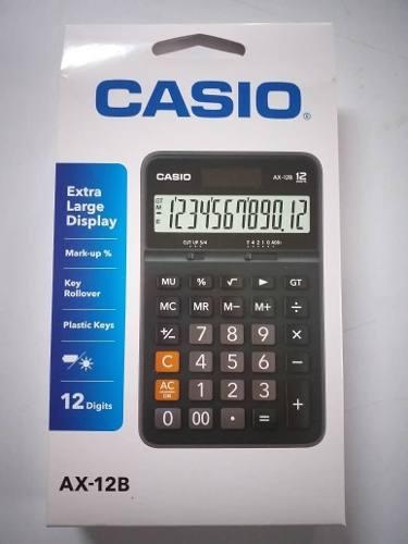 Calculadora Casio Ax 12b Y Mas Modelos Original