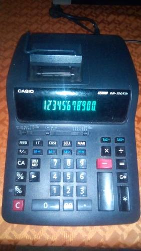 Calculadora Casio De 12 Digitos.