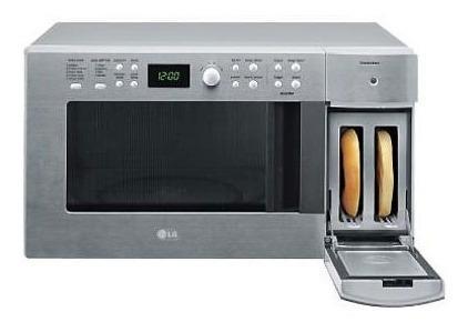 Horno Microondas /tostador Lg Md-0983ftl Acero Inox. Oferta