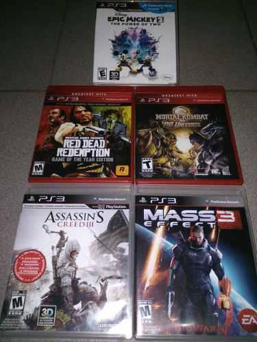 Juegos Físicos Para Playstation 3 Ps3 (Como Nuevo)