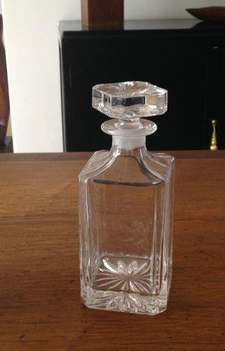 Licorera De Cristal -- Cristal Liso