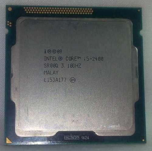 Porcesador Intel I5 2400 3.1 Ghz 1155 (40 Verdes)