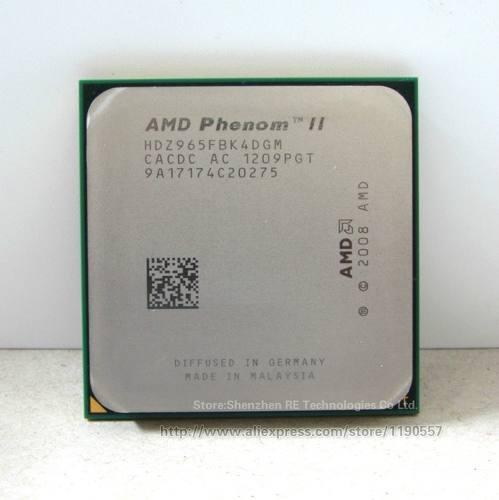 Procesador Amd Phenom Iix4 Con Fan Cooler