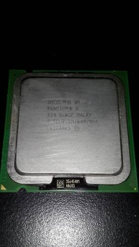 Procesador Intel Pentium D  Ghz