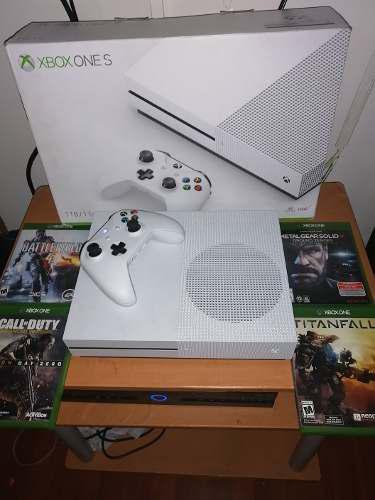Vendo O Cambio Mi Xbox One S De 1tb Con 4 Juegos
