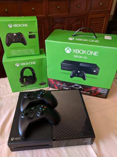 Xbox One 500gb + Headset + 4 Juegos Fisicos