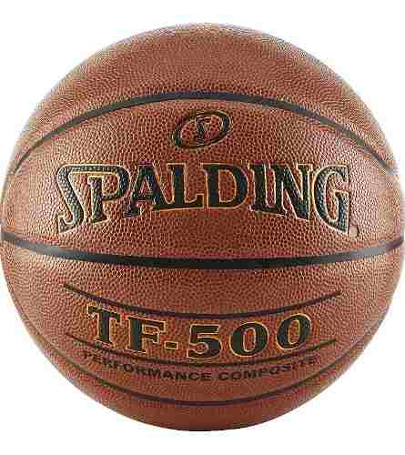 Balon Basket Spalding Tf - 500 Baloncesto Semicuero