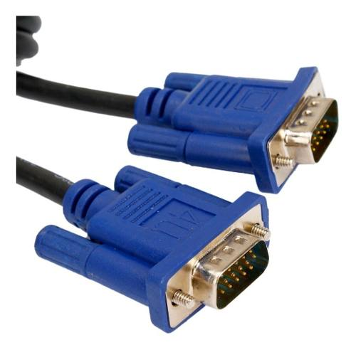 Cable Vga Macho Macho 10 Metros De Largo 15 Pin Doble Filtro