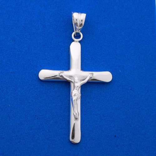 Cruz Con Cristo De Plata Ley 925 Eurodiseños Scrug