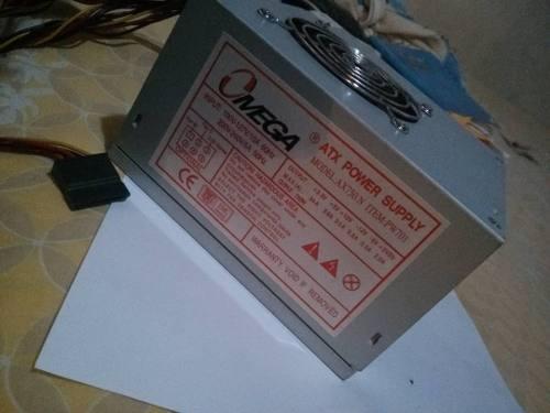 Fuente De Poder Atx 600w 20+4 Pin Sata