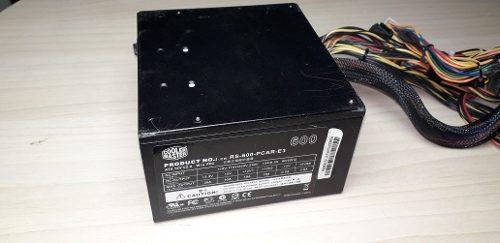 Fuente De Poder Cooler Master 600w