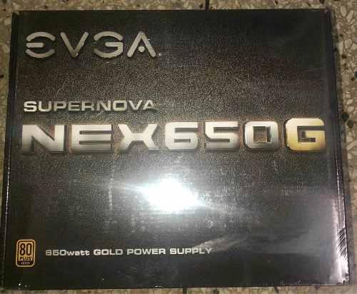 Fuente De Poder Evga Supernova 650w Gold 80+ Full Modular
